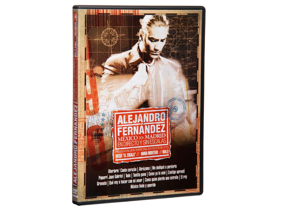 Alejandro fern ndez m xico madrid en directo dvd liverpool for Alejandro fernandez en el jardin